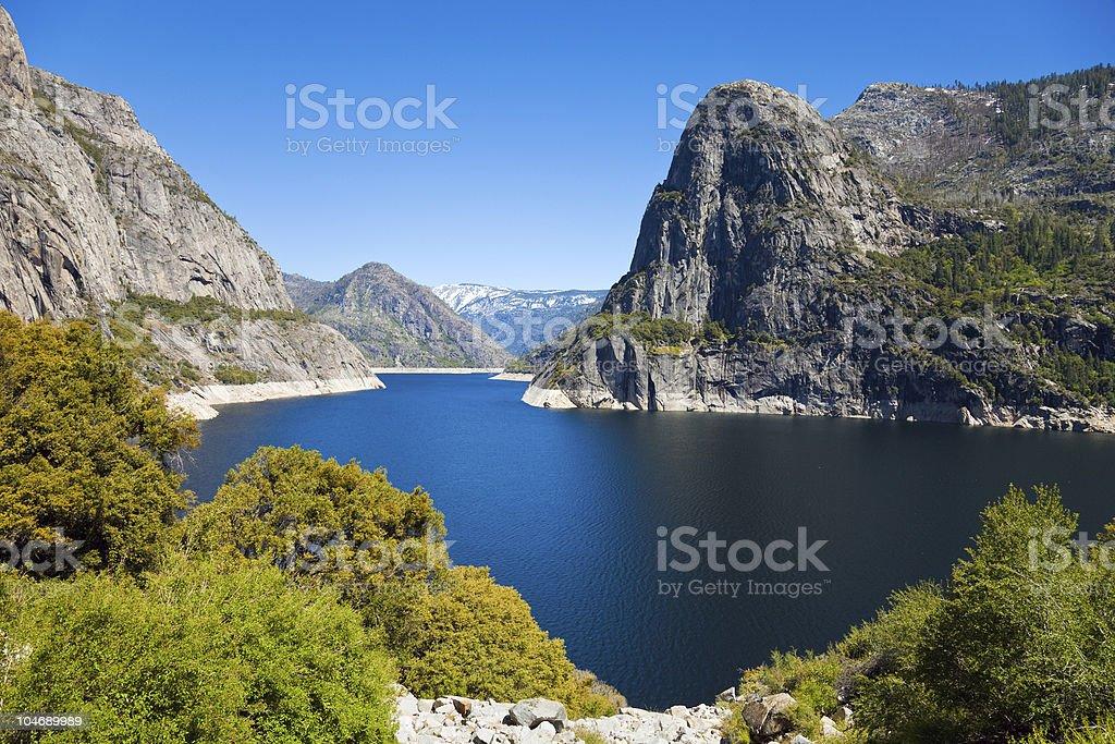Hetch Hetchy Landscape stock photo