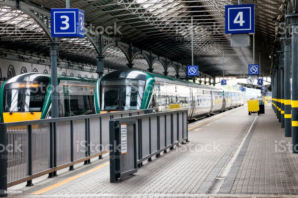 Heuston Bahnhof in Dublin, Irland – Foto