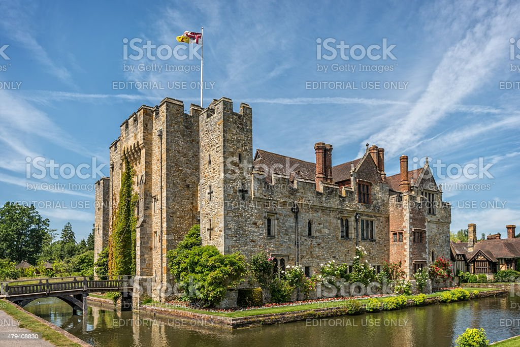 Hever Castle in Kent, England stock photo