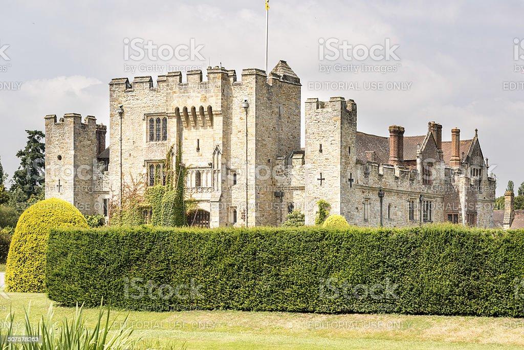 Hever Castle stock photo