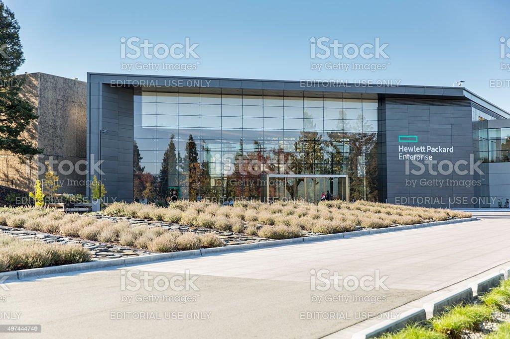 Hewlett-Packard Enterprise stock photo