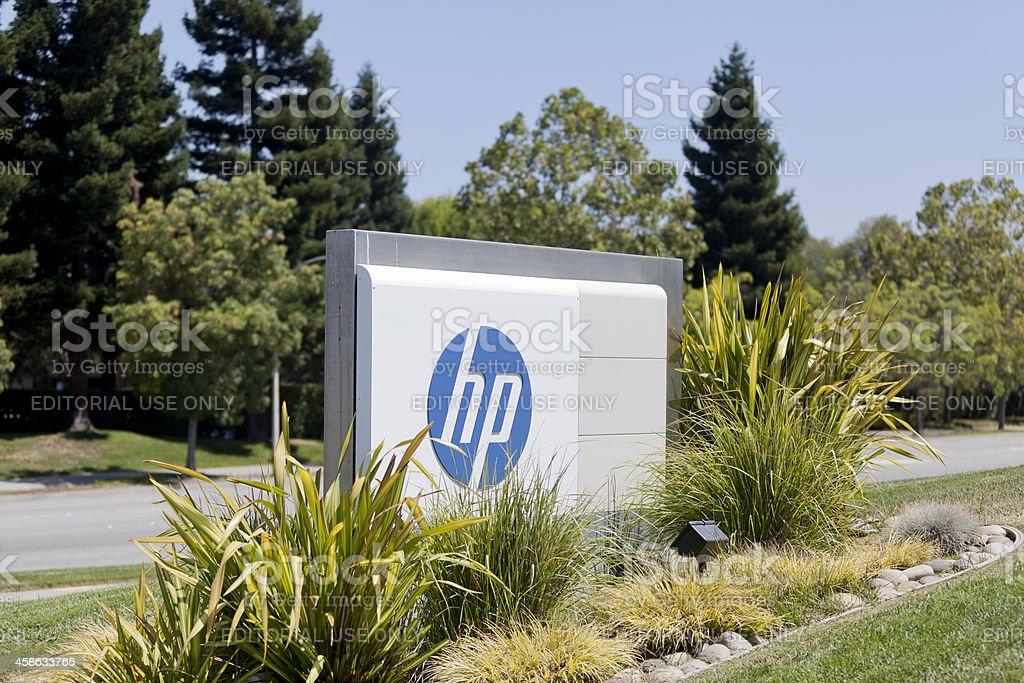 Hewlett-Packard royalty-free stock photo