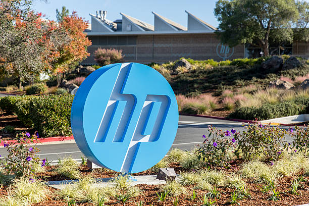 Hewlett-Packard stock photo