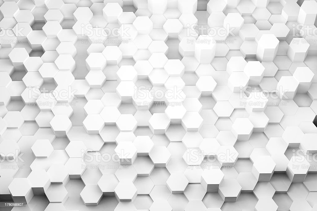 Hex Forest Background stock photo