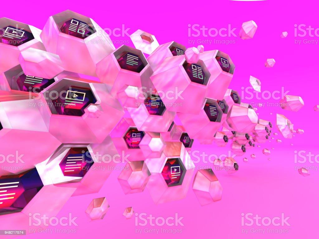 Hexa Marketing stock photo