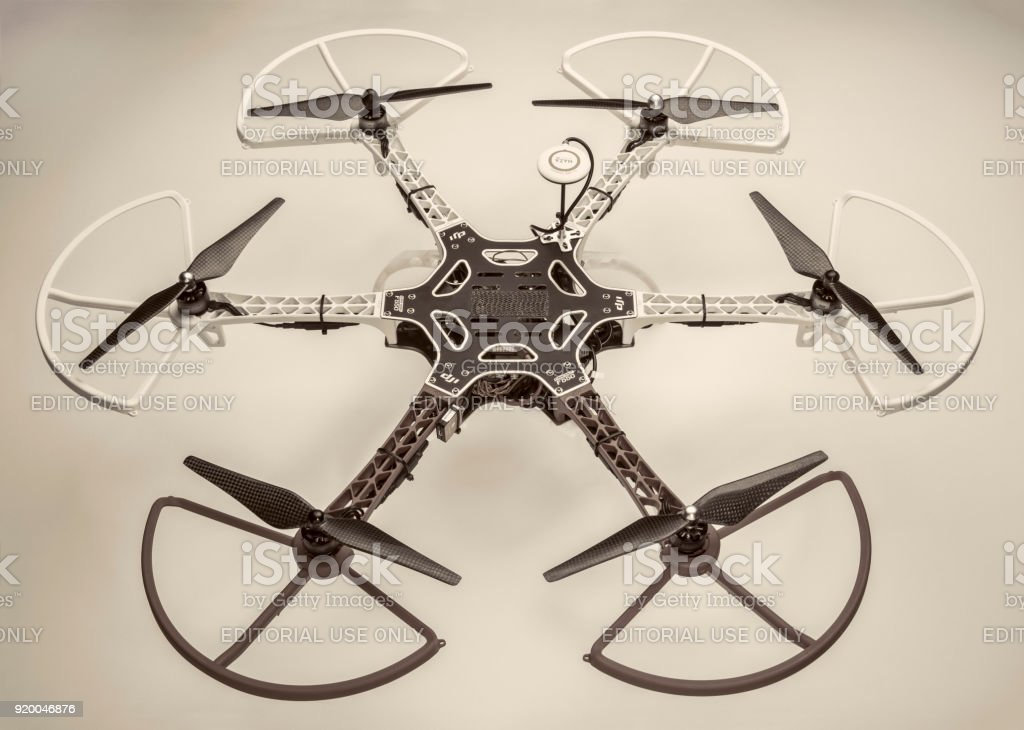 Hexacopter Drone Stock Photo - Download Image Now - iStock