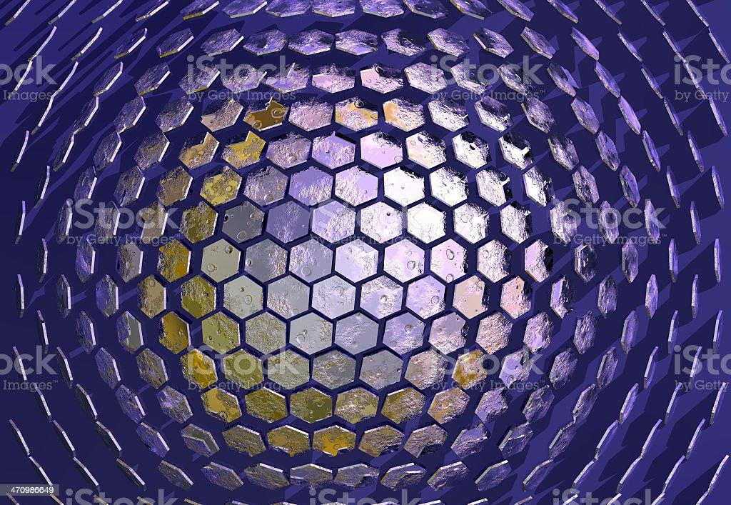 Hexadome 01 stock photo