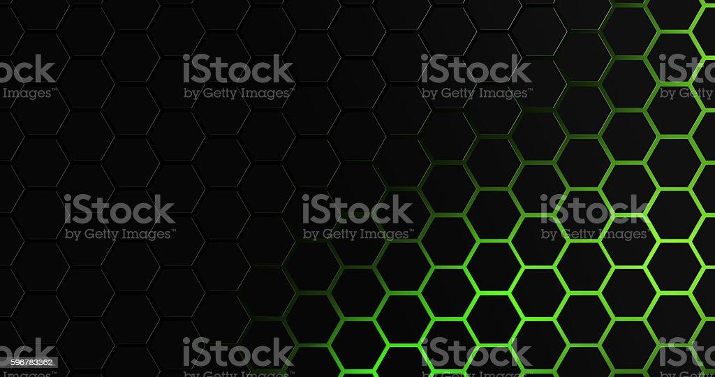Hexagon geomatric 8k background stock photo