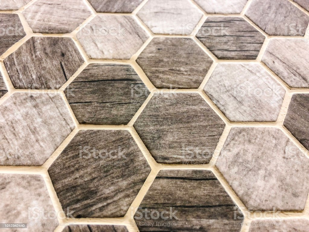 Hexagon Kitchen Granite And Marble Countertop Backsplash Or Stone Flooring Tiles Stock Photo Download Image Now Istock
