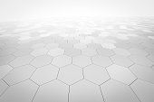hexagonal abstract background