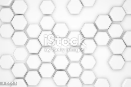 477481744istockphoto Hexagonal Abstract, Honeycomb 3D Background 943333818