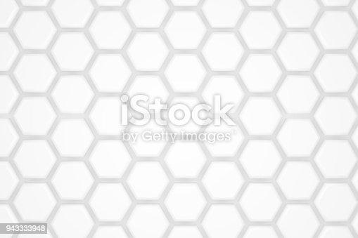 477481744istockphoto Hexagonal Abstract, Honeycomb 3D Background 943333948