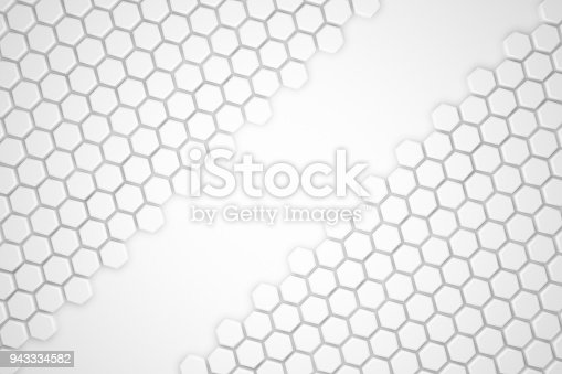 477481744istockphoto Hexagonal Abstract, Honeycomb 3D Background 943334582