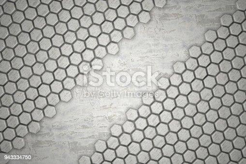 477481744istockphoto Hexagonal Abstract, Honeycomb 3D Background 943334750