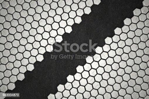 477481744istockphoto Hexagonal Abstract, Honeycomb 3D Background 943334870