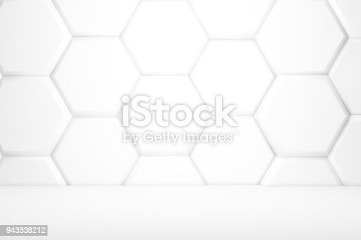 477481744istockphoto Hexagonal Abstract, Honeycomb 3D Background 943338212
