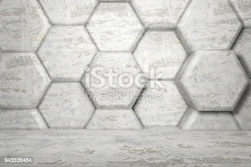 477481744istockphoto Hexagonal Abstract, Honeycomb 3D Background 943338484