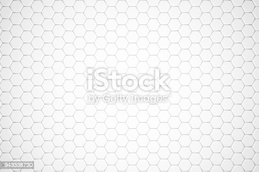 477481744istockphoto Hexagonal Abstract, Honeycomb 3D Background 943338730