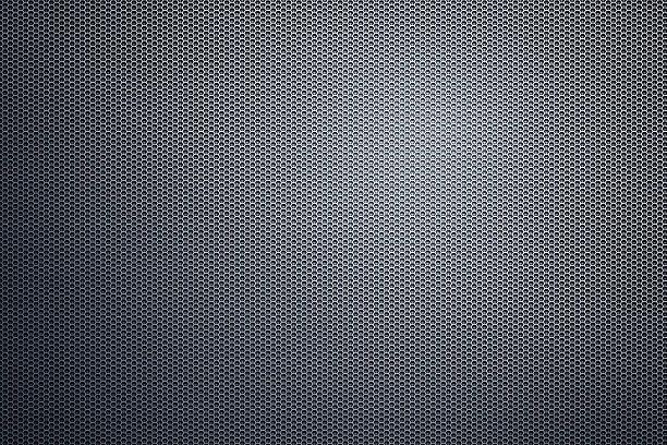 fond hexagonale - plomb en métal photos et images de collection