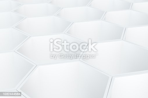905438692 istock photo Hexagonal, Honeycomb Abstract 3D Background 1032444584