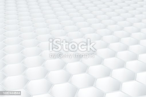 905438692 istock photo Hexagonal, Honeycomb Abstract 3D Background 1032444844