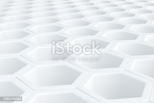905438692 istock photo Hexagonal, Honeycomb Abstract 3D Background 1032445334