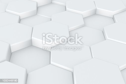 905438692 istock photo Hexagonal, Honeycomb Abstract 3D Background 1032448180