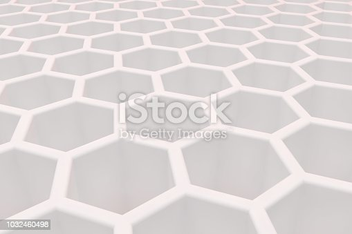 905438692 istock photo Hexagonal, Honeycomb Abstract 3D Background 1032460498