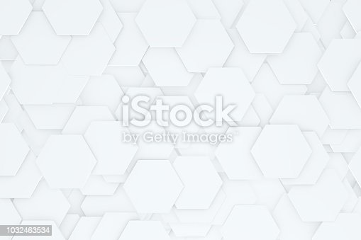 905438692 istock photo Hexagonal, Honeycomb Abstract 3D Background 1032463534