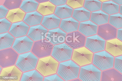 1003112132 istock photo Hexagonal, Honeycomb Abstract 3D Background 1069446072