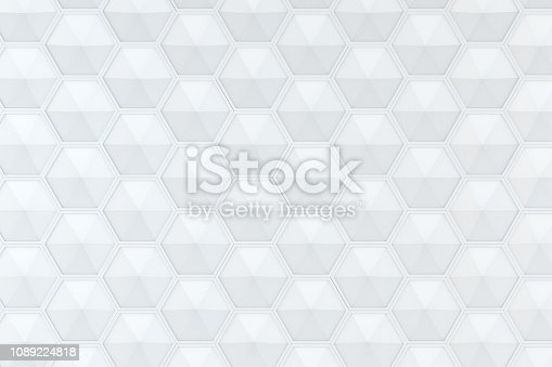 905438692 istock photo Hexagonal, Honeycomb Abstract 3D Background 1089224818