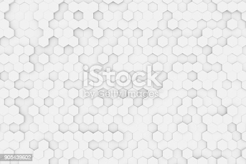 905438692 istock photo Hexagonal, Honeycomb Abstract 3D Background 905439602