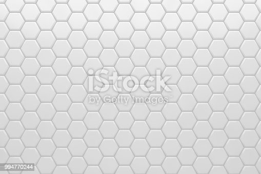 905438692 istock photo Hexagonal, Honeycomb Abstract 3D Background 994770244