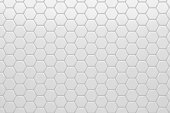Hexagonal, Honeycomb Abstract 3D Background