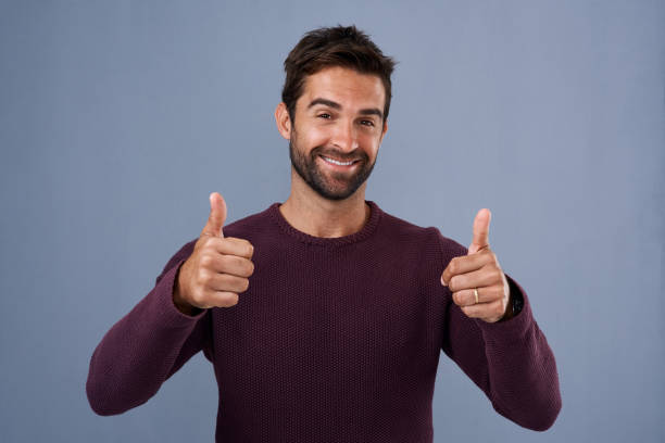 Hey! Good on you! stock photo