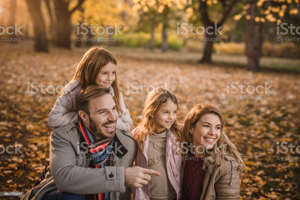 Hey guys, take a look over there! royalty-free stock photo