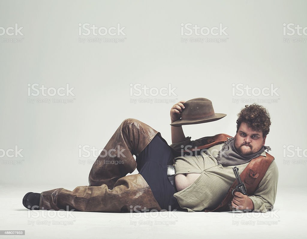 Hey ladies....come on and get me! stock photo