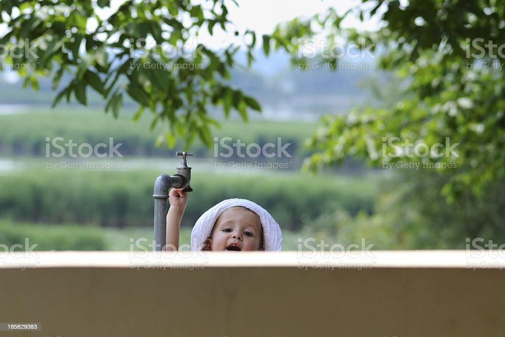 Hey !! Make me grow up ! royalty-free stock photo