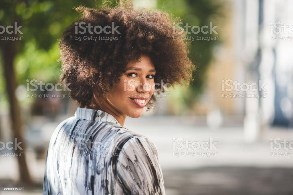 Hey there stranger stock photo