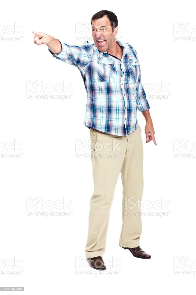 Hey you over there!! royalty-free stock photo