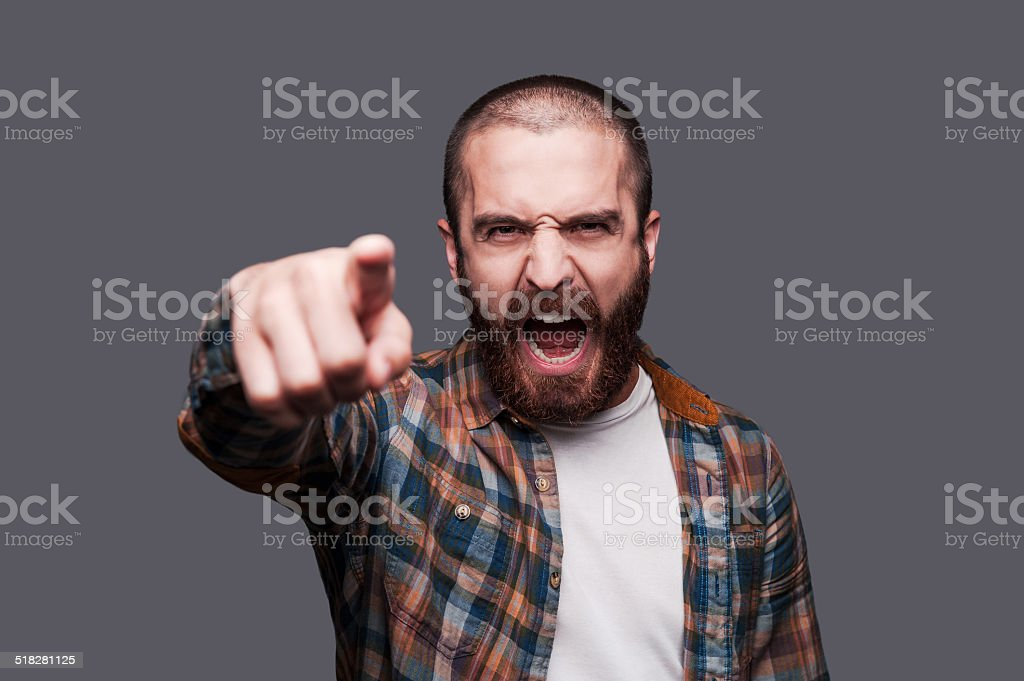 Hey you! stock photo