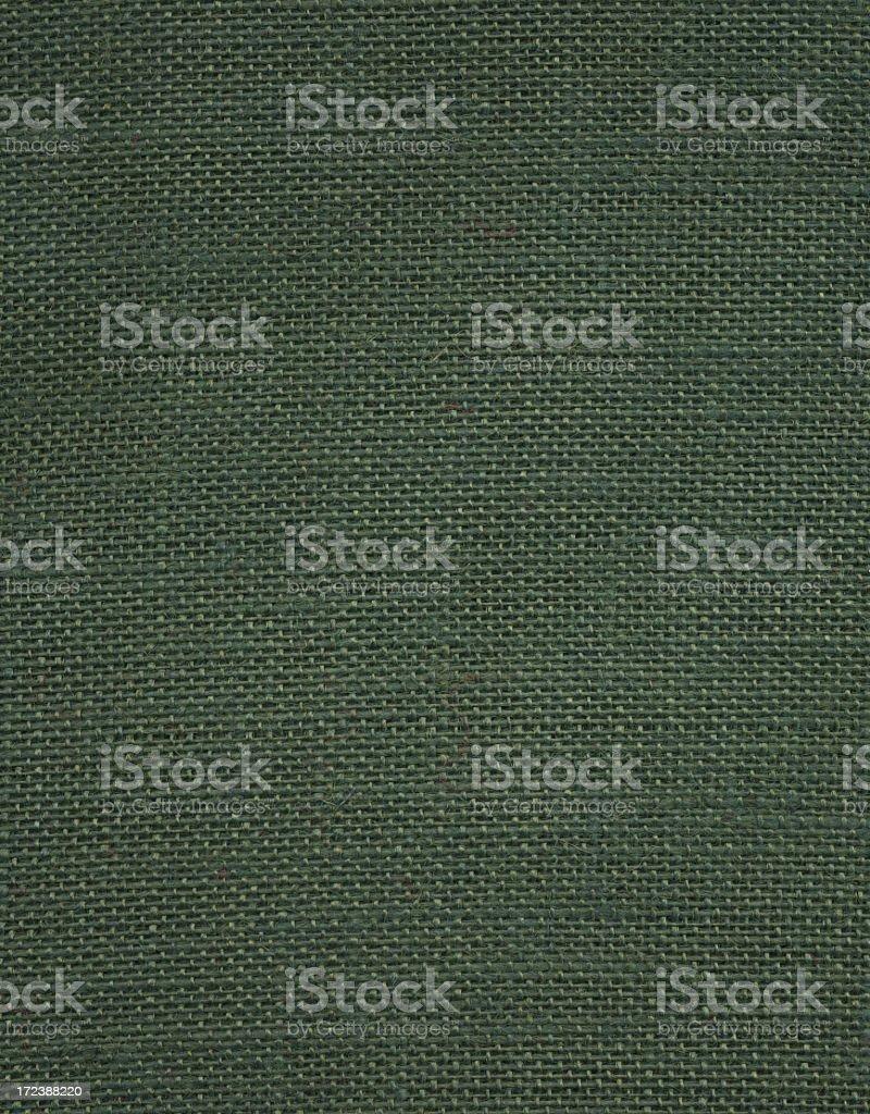 Hgh resolution dark green canvas texture royalty-free stock photo