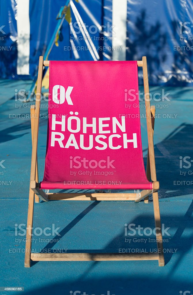 Höhenrausch royalty-free stock photo