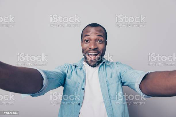 Hi guys portrait of adorable excited amazed funny joyful african man picture id925450642?b=1&k=6&m=925450642&s=612x612&h=ylzpapc4opdu0xk 03p4x0nqyz2rdlxffowxtecfmfk=