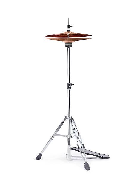 hi hat cymbal - cimbaal stockfoto's en -beelden
