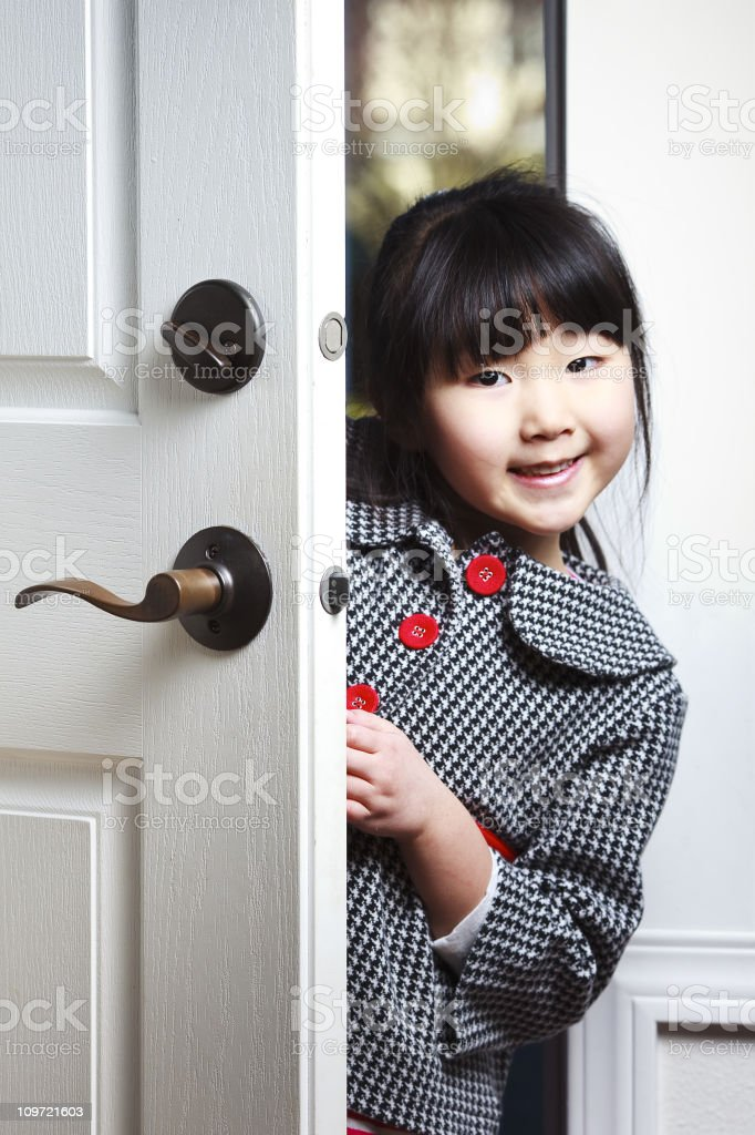 Hi, I'm Home royalty-free stock photo