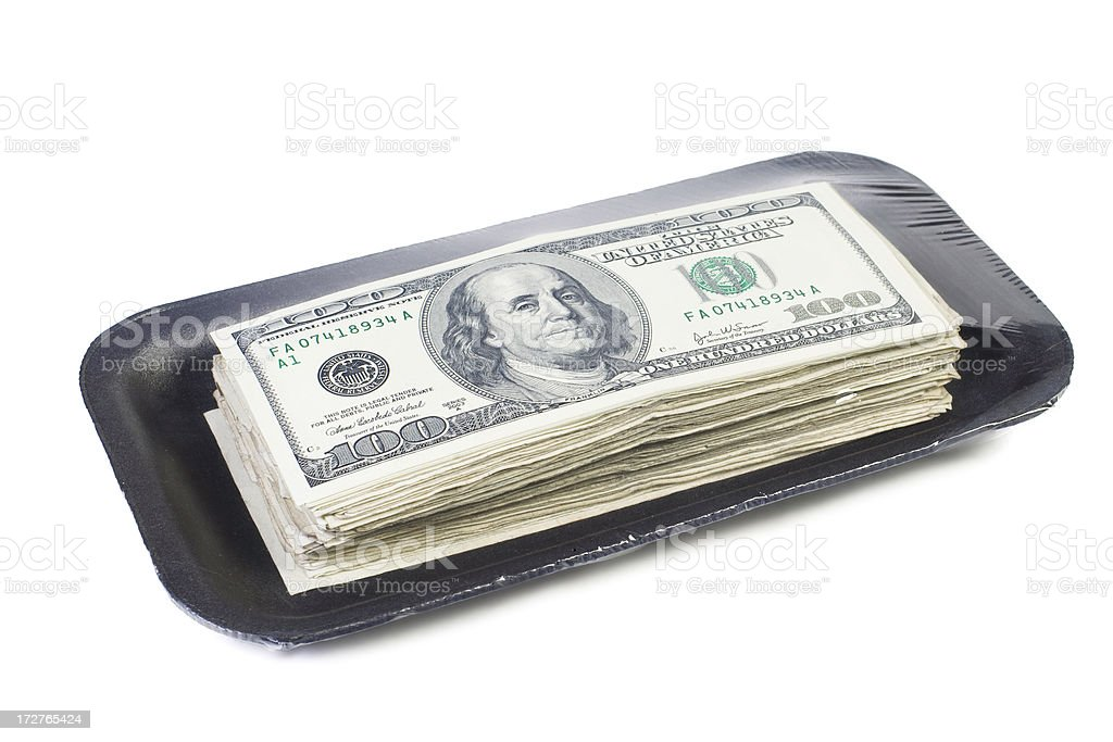 Hi Price Currency stock photo