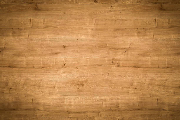 hi quality wooden texture used as background - horizontal lines - knotted wood stock pictures, royalty-free photos & images