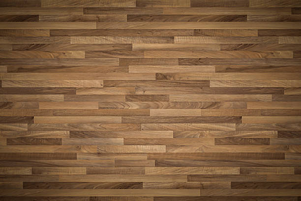hi quality wooden texture used as background - horizontal lines - wood paneling stock photos and pictures