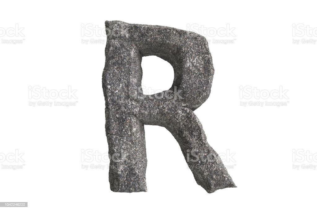 Alta resolución A-Z piedra textura texto serie para ordenar por hasta - foto de stock